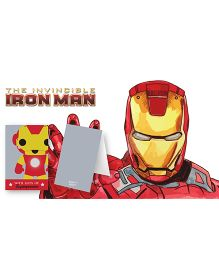 Kaam Dekho Naam Nahi Love Super Hero Gift Tags - Red & Yellow
