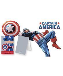 Kaam Dekho Naam Nahi Love Captain America Gift Tags - Multicolour