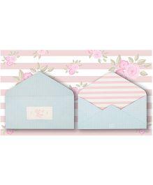 Kaam Dekho Naam Nahi Cuteness Overload Envelopes - Blue