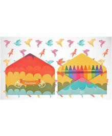 Kaam Dekho Naam Nahi Crayon Crazy Envelopes - Multicolour