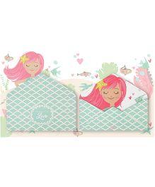Kaam Dekho Naam Nahi Wish I Was A Mermiad Envelopes - Green & White