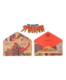 Kaam Dekho Naam Nahi Super Hero Envelopes - Red