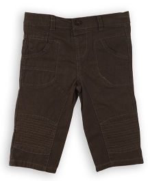 Lilliput Kids Full Length Hardy Wear Trouser - Mocha Brown