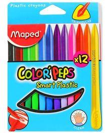 Maped - Smart Plastic Crayons
