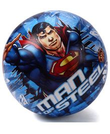 DC Comics Superman Man Of Steel Inflatable Ball - Blue