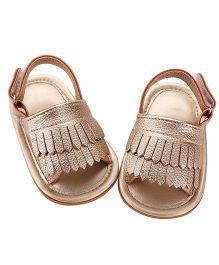 Akinos Kids Trendy Sandals - Golden