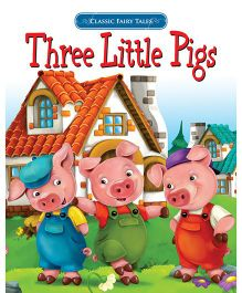 Three Little Pigs Fairy Tales For Kids - English