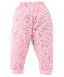 Ollypop Printed Leggings - Pink