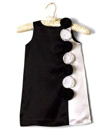 Nitallys A-Line Dress - Black & White