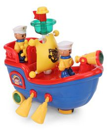 Mitashi Skykidz Musical Pirate Ship - Multicolor
