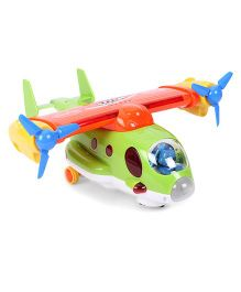 Skykidz Captain Jack Aeroplane Toy - Green And Red