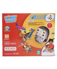 Mitashi Hobby Lobby Build And Play Mechanix Set - 46 Pieces