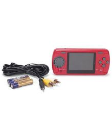 Mitashi GameIn Smarty Chotu Hand Held Gaming Console - Red