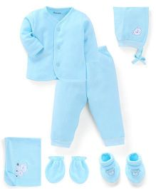 Child World Clothing Gift Set Turquoise - Pack Of 6