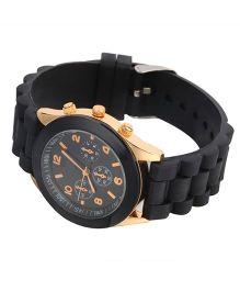 Supply Station Analog Digital Watch Black - 23 cm