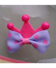 Supply Station Hair Clip Pink Purple - Single Piece