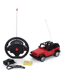 Smiles Creation Clash Remote Control Car - Red
