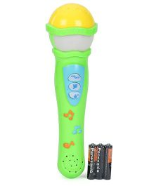 Smiles Creation Microphone Toy - Green