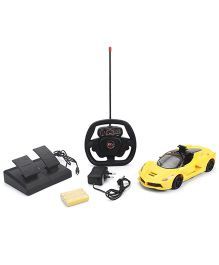 Smiles Creations Remote Control Speed Sports Car - Yellow