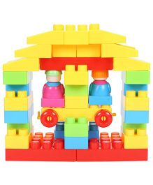 Smiles Creation Block Set Multi Color - 40 Pieces