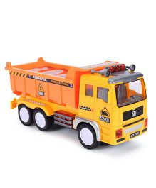 Smiles Creation Electric Truck Toy - Orange Yellow