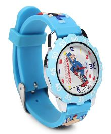 Fantasy World Analog Wrist Watch Chacha Chaudhary Print - Blue