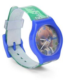 Fantasy World Wrist Watch Babes Print - Blue Green