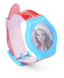 Fantasy World Wrist Watch Babes Print - Blue Red