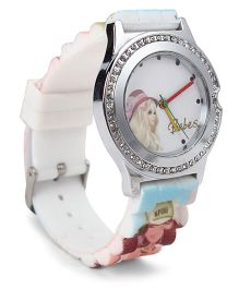 Fantasy World Wrist Watch Babes Print - Multicolor