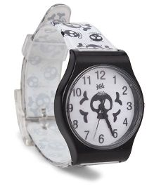 Fantasy World Wrist Watch - Black And White
