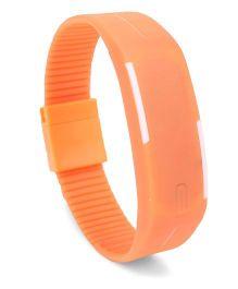 Fantasy World Mango People Digital LED Wrist Watches - Orange