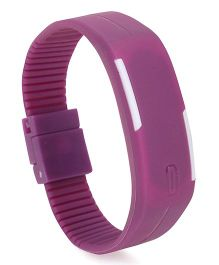 Fantasy World Digital LED Watch - Purple