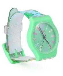 Fantasy World Wrist Watch - Green
