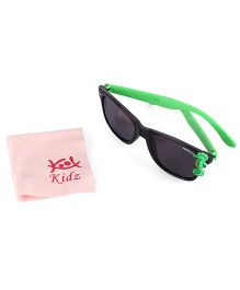 Froggy Sunglasses Sea Horse Design - Green