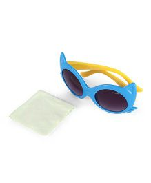 Froggy Sunglasses Cats Eye Design - Blue
