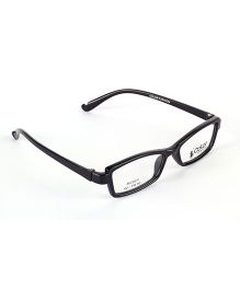 Fantasy World Full Rim Plastic Square Shaped Frame - Black