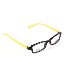Fantasy World Full Rim Plastic Square Shaped Frame - Yellow
