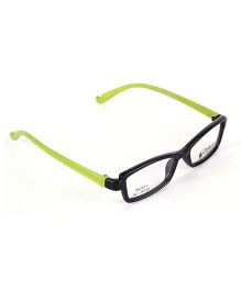 Fantasy World Full Rim Plastic Square Shaped Frame - Green