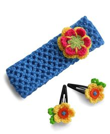 Dollops Of Sunshine Hair Band And Tic Tac Set - Blue