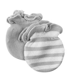 Playette Preemie Bamboo Mittens Pack Of 3 - Grey