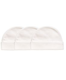 Playette Caps White - Pack Of 3