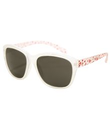Playette Daniella Fashion Sunglasses - White