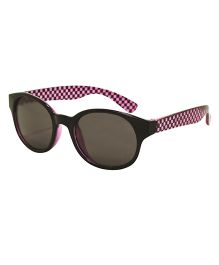 Playette Daniella Fashion Sunglasses - Black Purple
