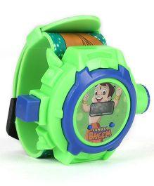 Chhota Bheem Digital Projector Watch - Green