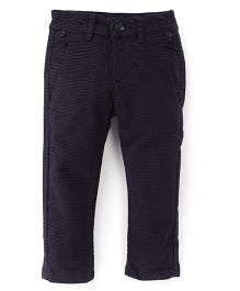 Bambini Kids Stylish & Comfortable Pant - Navy Blue