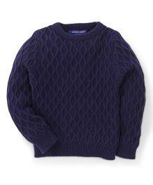 Bambini Kids Stylish & Comfortable Sweater - Navy Blue