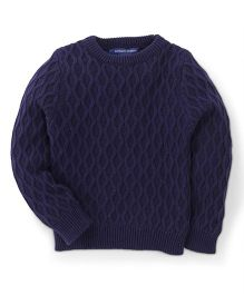 Bambini Kids Stylish & Comfortable Sweater - Navy Blue
