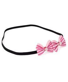 Funkrafts Little Bows Headband - Pink