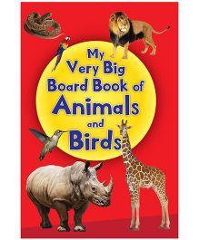 My Very Big Board Book of Animals & Birds - English