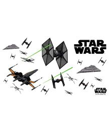 Orka Star Wars Digital Printed Wall Decal - Black
